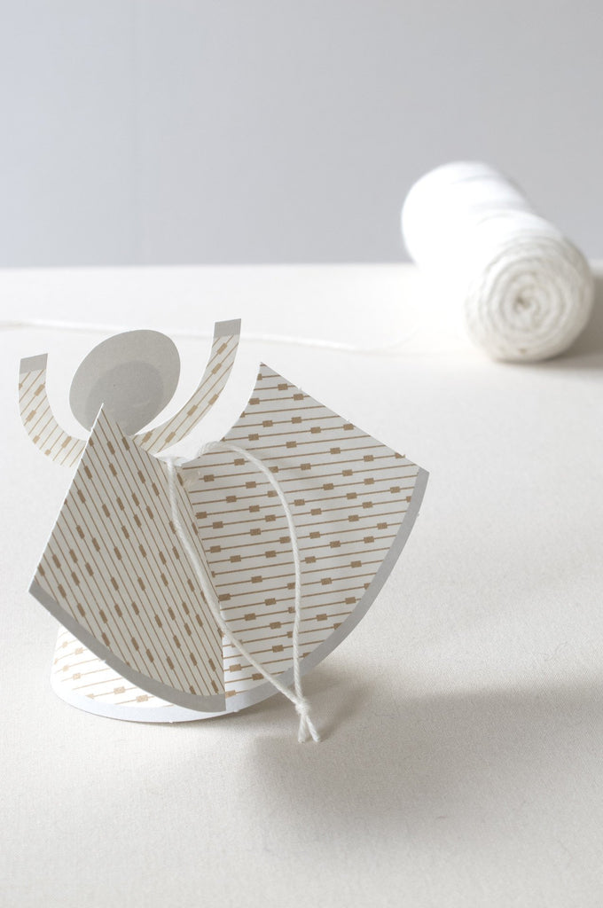 Himli paper-folding angels