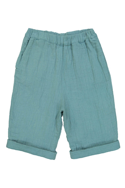 Kids on the Moon Emerald Shorts