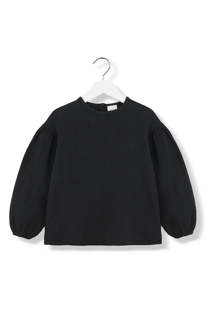 Kids on the Moon OPHELIA BLACK BLOUSE