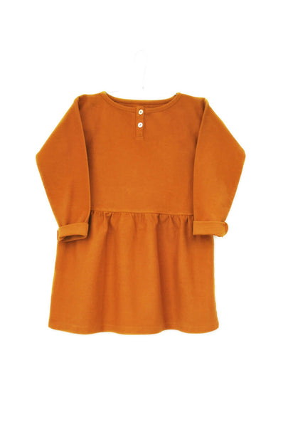 Dress Gaby cinnamon orange