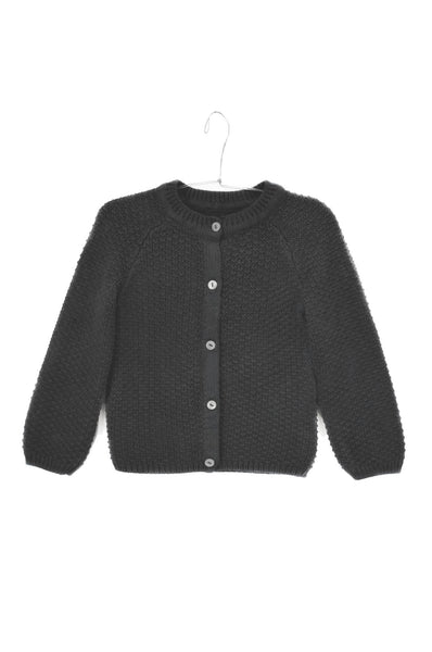 Cardigan Armel Coal Grey