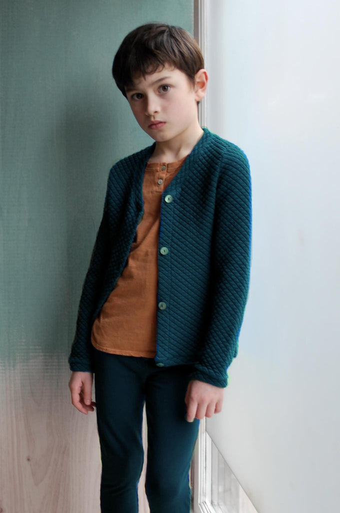 Jacket Giotto Winter Sea Blue