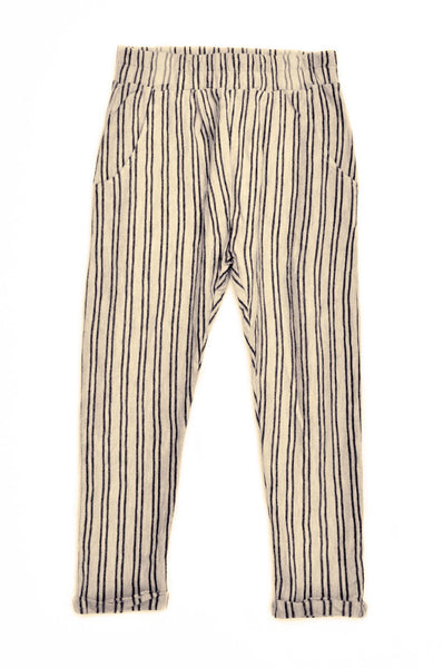Chino Striped Trousers Stone