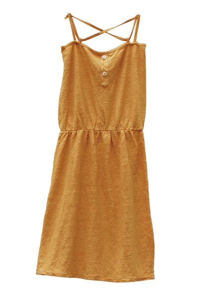 GINA Dress Melon Le Petit Germain