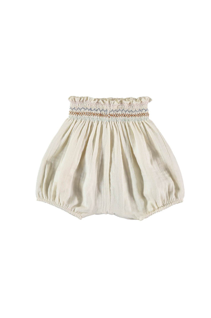 liilu SMOCK BLOOMER CRU NATURAL