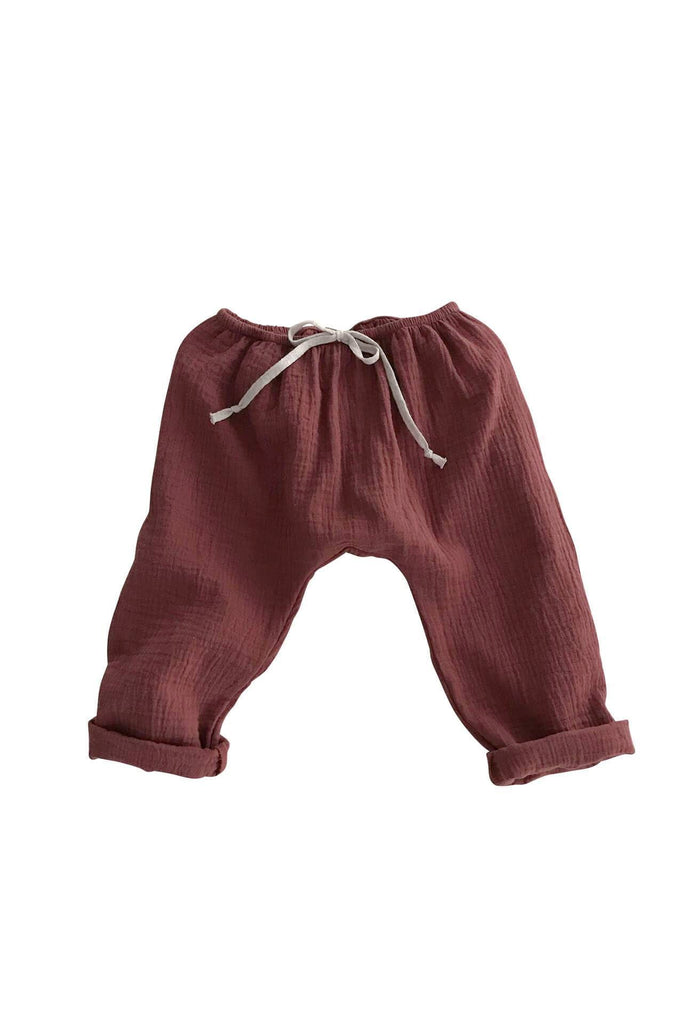BAGGY PANTS CHESTNUT liilu