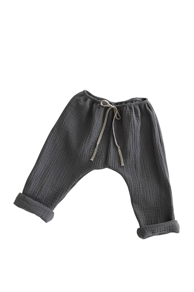 BAGGY PANTS GRAPHITE liilu