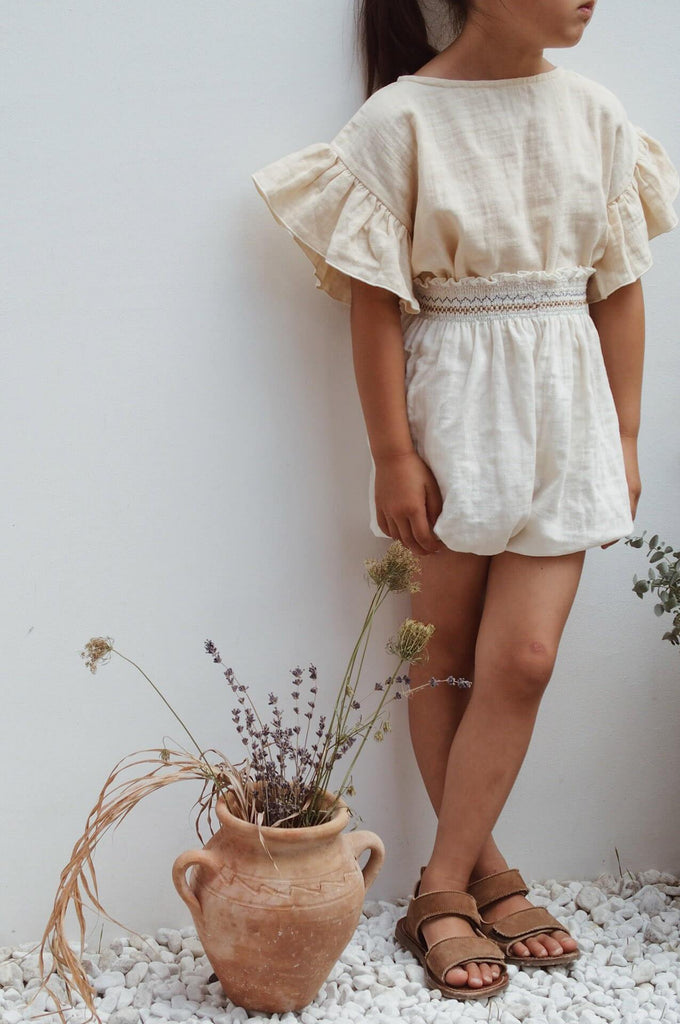 SMOCK BLOOMER CRU NATURAL