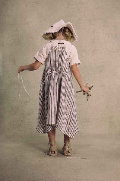 Little Creative Factory Bamboo Striped Apron Dress