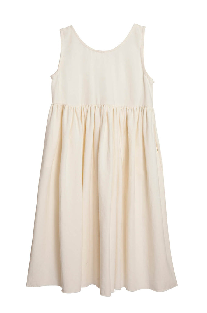 Little Creative Factory  Nomad dress ivory
