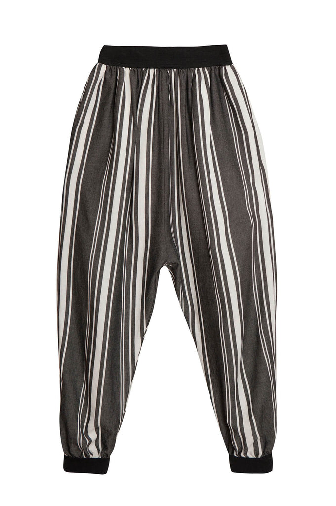 Little Creative Factory  Tuareg trousers dark stripes