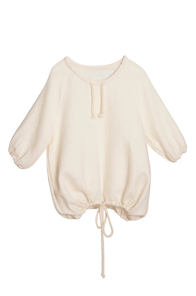 Little Creative Factory  Tumbleweed blouse ivory