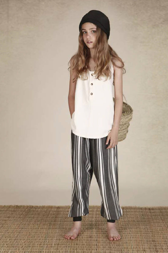 Tuareg trousers dark stripes
