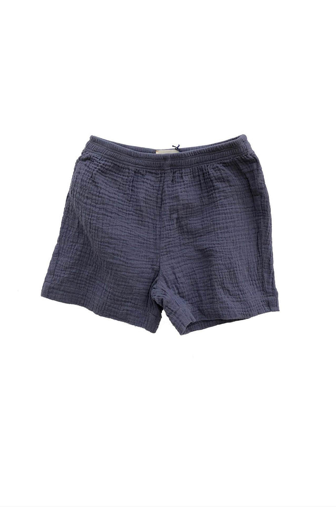 Longlivethequeen CRINKLE SHORTS BLUE