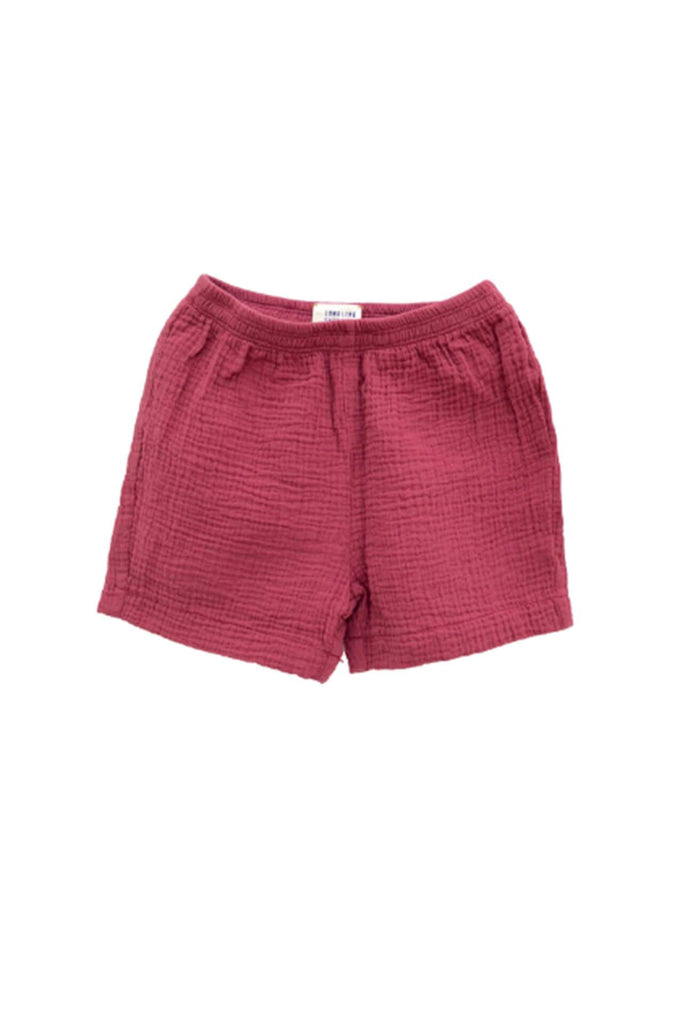 Longlivethequeen CRINKLE SHORTS ROSE