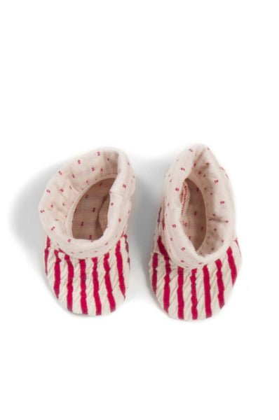 Macarons Shoes Crash Light Newborn coral/off white