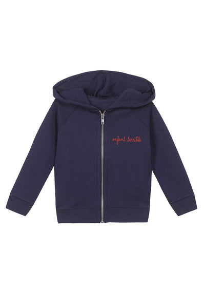 Maison Labiche  Zip-Up Hoodie Enfant Terrible
