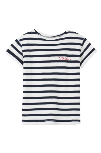 Maison Labiche  Striped Tee Amour
