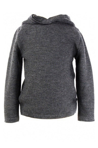 Hooded Sweater Gray Marie Morenz