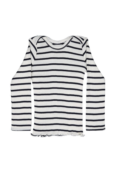 BELFAST Silk-Cotton Top Sailor minimalisma