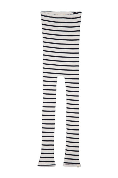BIEBER Silk-Cotton Leggings Sailor minimalisma