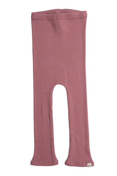 Silk-Cotton Bieber Leggings Cozy Rose