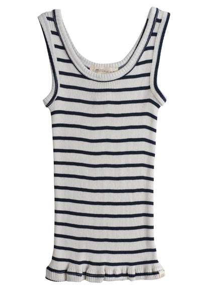 Silk-Cotton Tank Top Billund Sailor