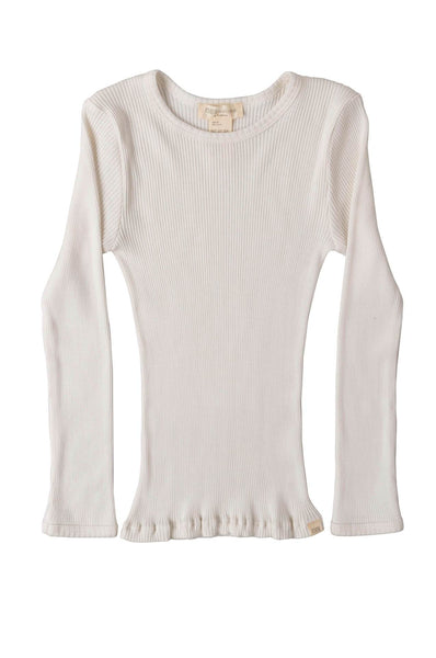 BERGEN Silk-Cotton Top Cream minimalisma