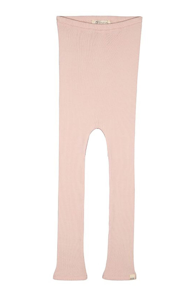 BIEBER Silk-Cotton Leggings Sweet Rose minimalisma