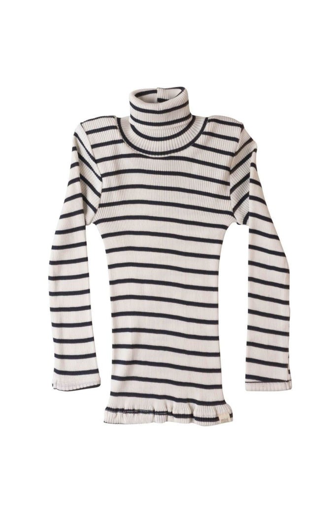 minimalisma BUI Silk-Cotton Turtleneck Sailor  001c8f0c0