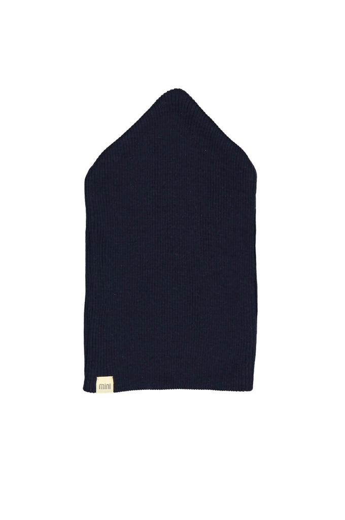 Silk-Seamless Hat Dark Blue