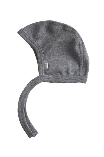 Bonnet Organic Cotton grey melange