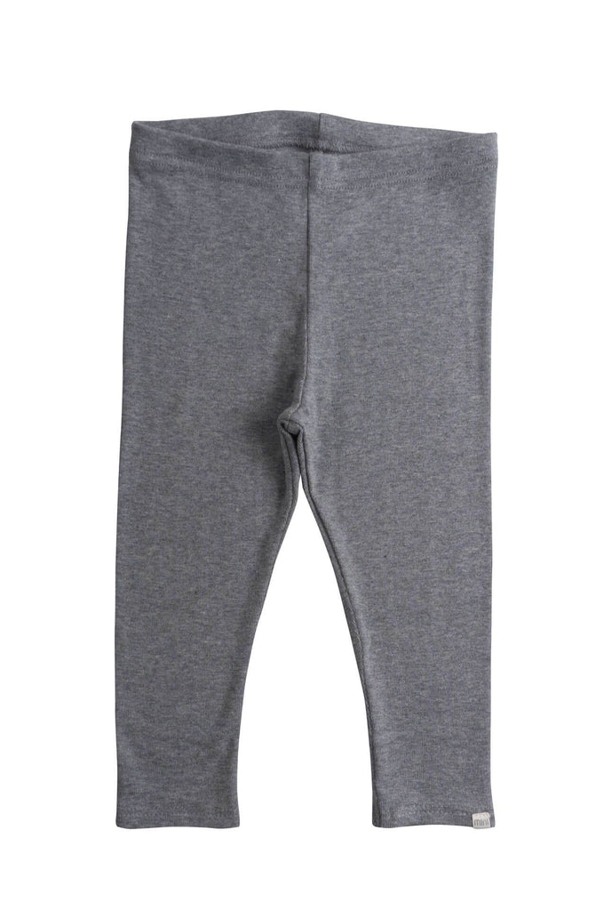 Organic Cotton leggings Nice grey melange minimalisma