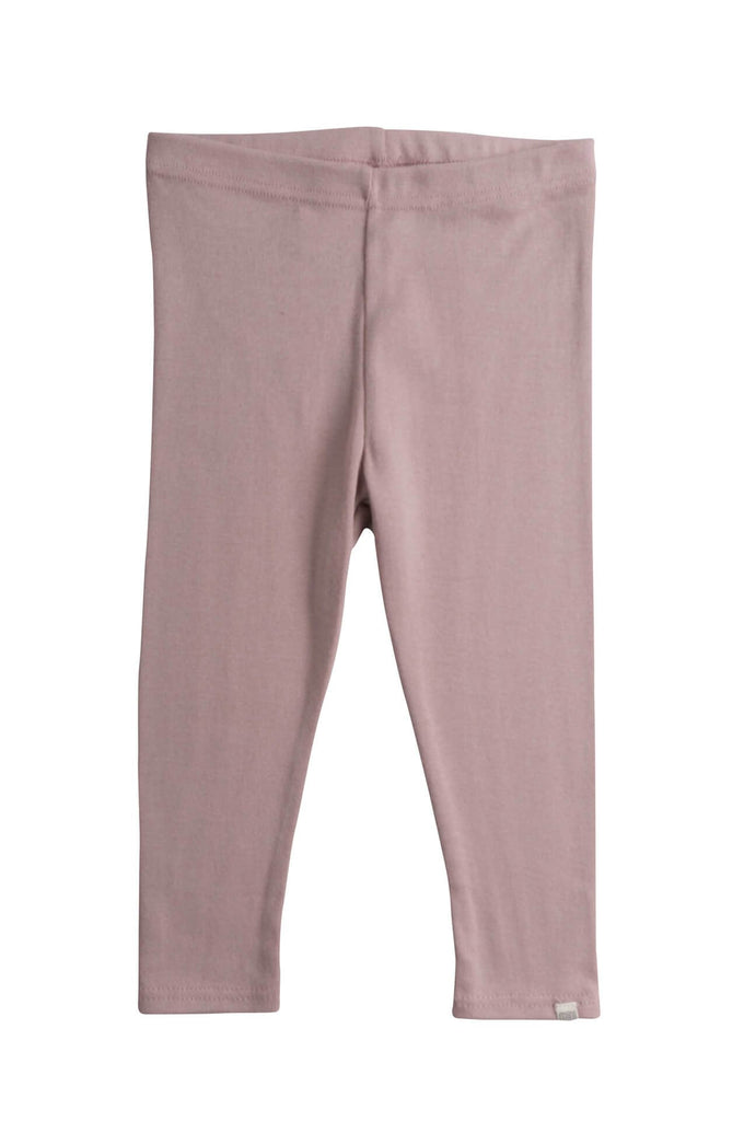 Organic Cotton leggings Nice dusty rose minimalisma