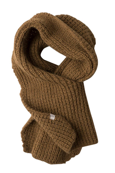 Cozy knitted scarf