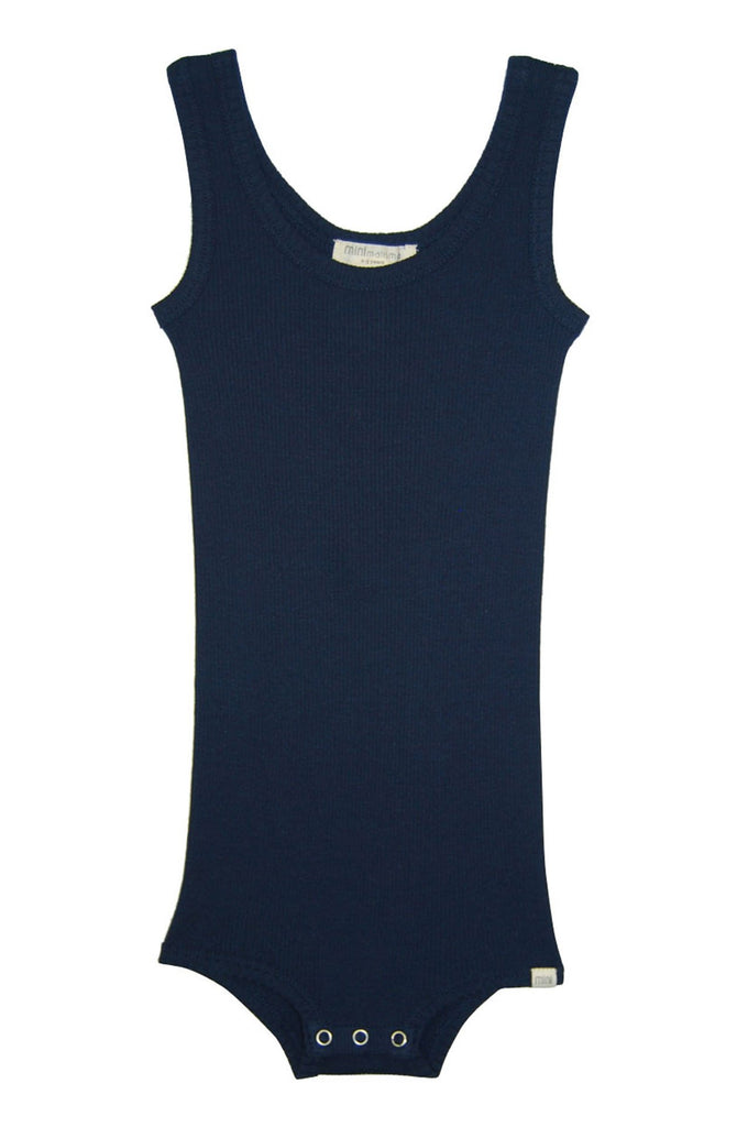 Silk-Seamless Body Dark Blue