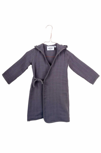 Bathrobe Pépin Gray