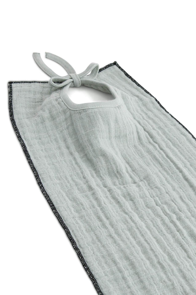 Moumout LOBSTER muslin bib almond