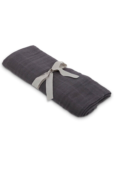 Swaddle in dark gray