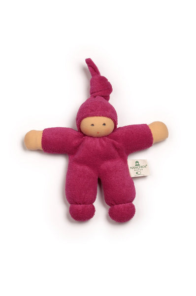 Pimpel terry cloth doll in berry