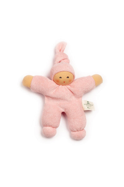 Pimpel terry cloth doll in soft pink
