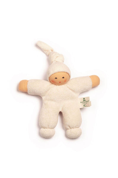 Pimpel terry cloth doll in cream Nanchen Natur