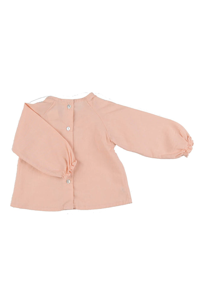organic cotton baby blouse