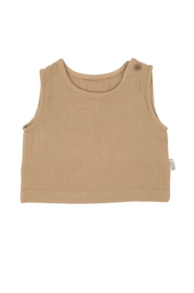 CEYLAN tank top indian tan