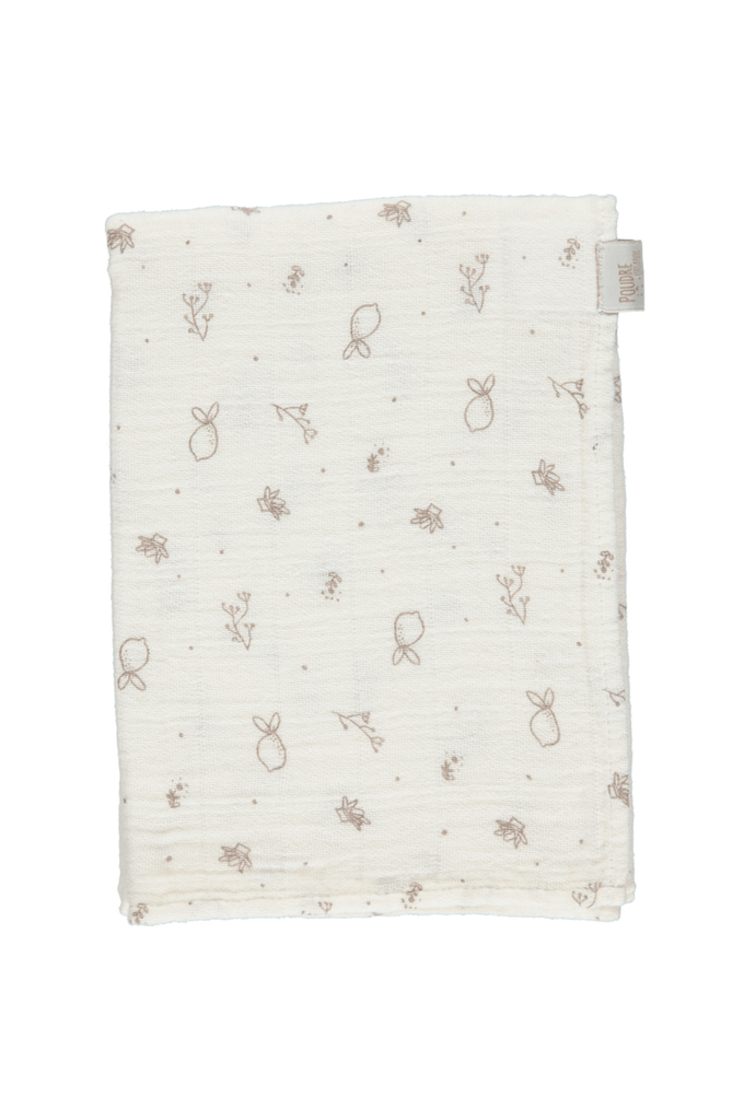 Small Swaddle Lait with print Poudre Organic