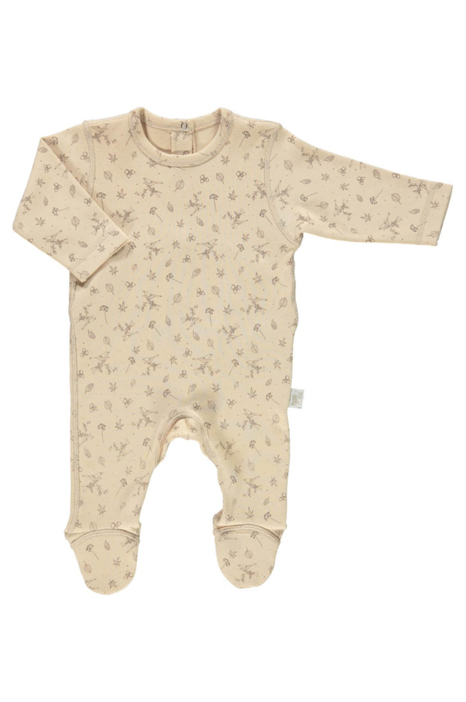 Ponteira Baby Jumpsuit Amberlight w/patterns Poudre Organic