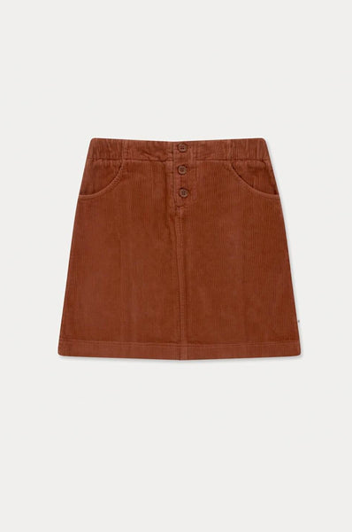 Repose AMS A LINE SKIRT STRONG CHESTNUT