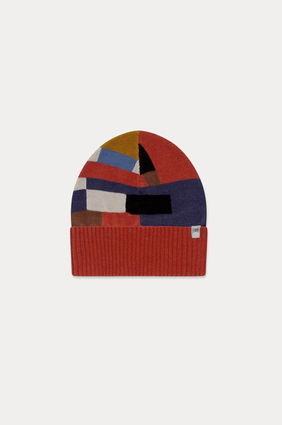 Repose AMS KNITTED HAT COLOR BLOCK