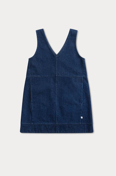 Repose AMS SHIFT DRESS STRONG INDIGO