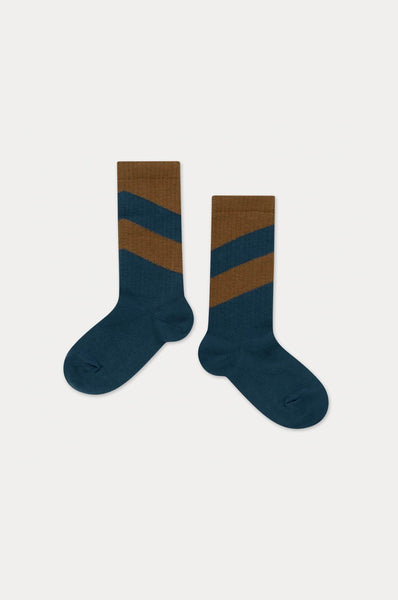 Repose AMS SOCKS VAGUE BLUEISH DIAGONAL